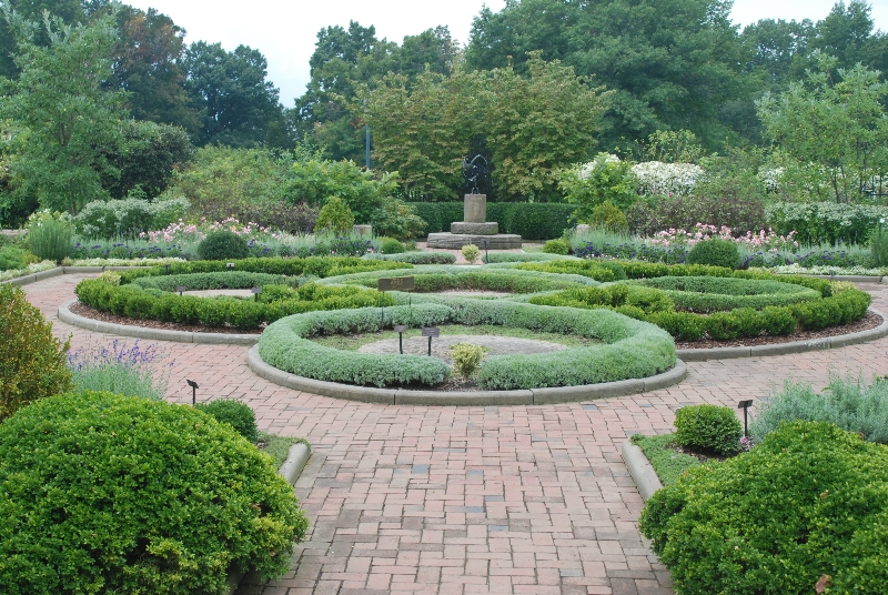 Knot Garden | Western Reserve Herb Society